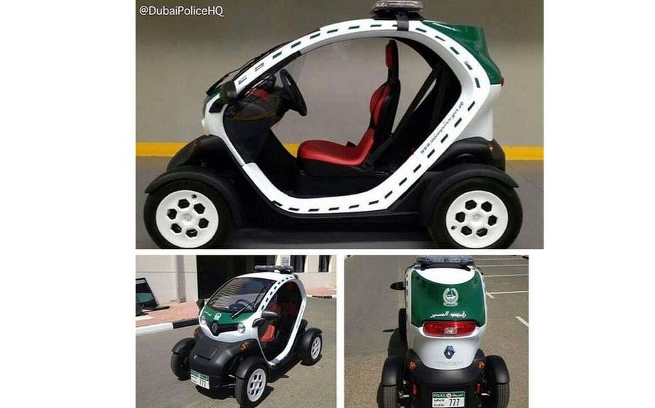 Renault Twizy in the department of the Dubai Police picture #3