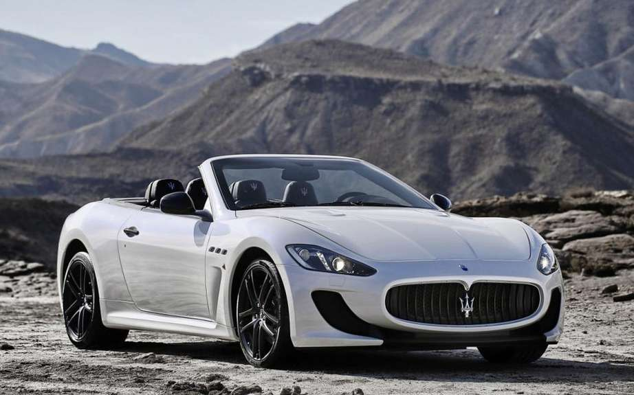 Maserati GranCabrio 2016 on the Basis of future GranSport