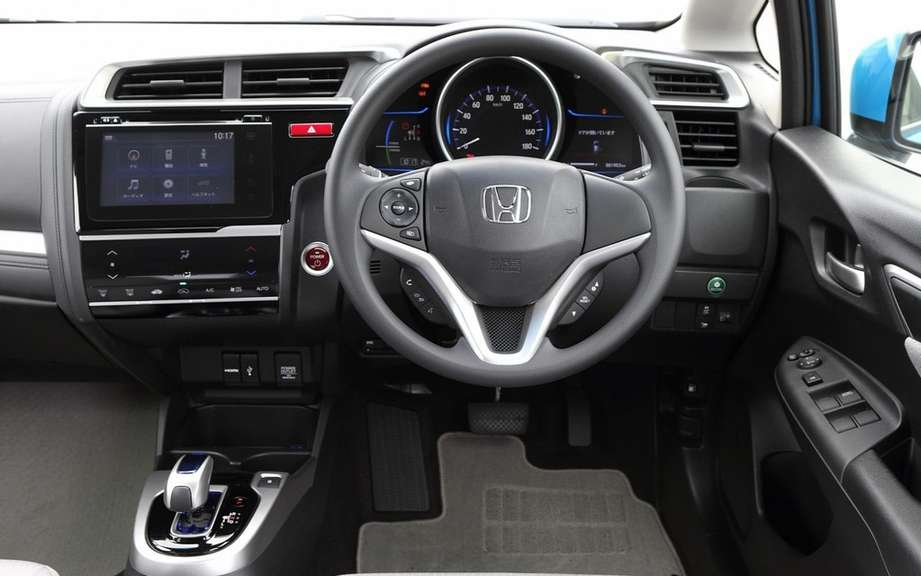 Honda Fit 2014 unveiled on the Net picture #9