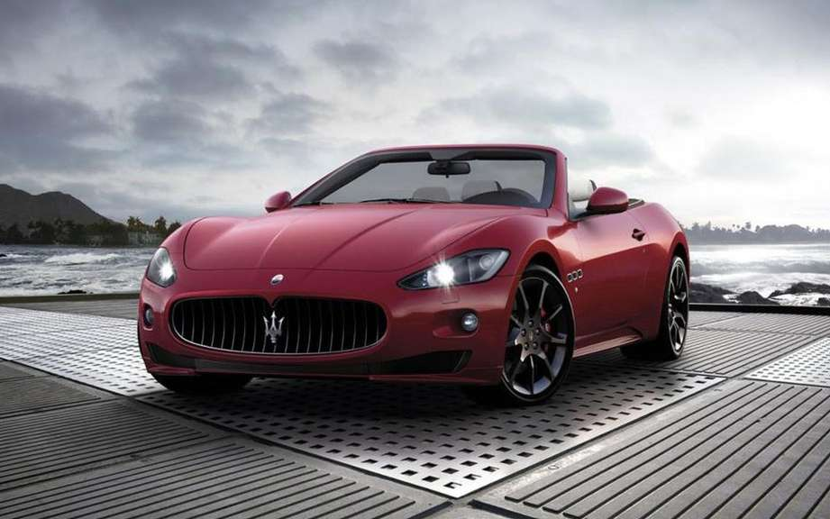 Maserati GranCabrio 2016 on the Basis of future GranSport picture #2