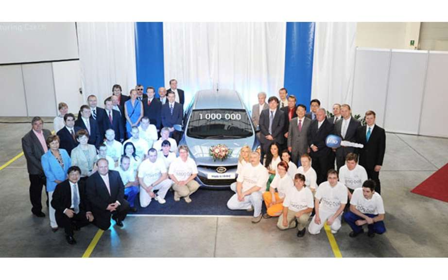 Hyundai assembled icts millionth vehicle in the Czech Republic picture #2