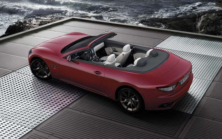 Maserati GranCabrio 2016 on the Basis of future GranSport picture #4