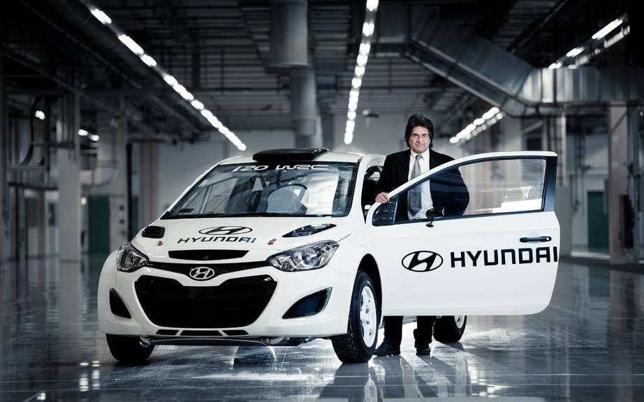 The new test center at the Nurburgring Hyundai