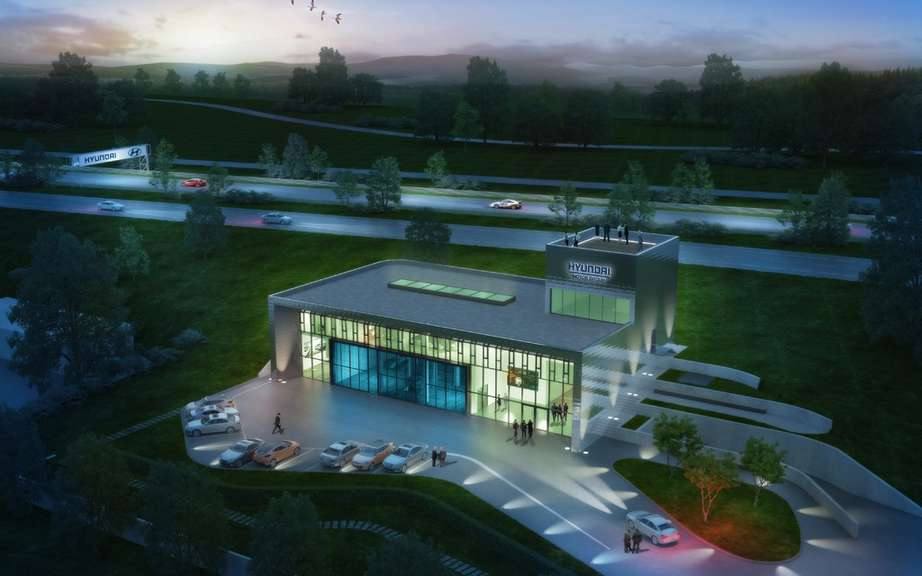 The new test center at the Nurburgring Hyundai picture #3