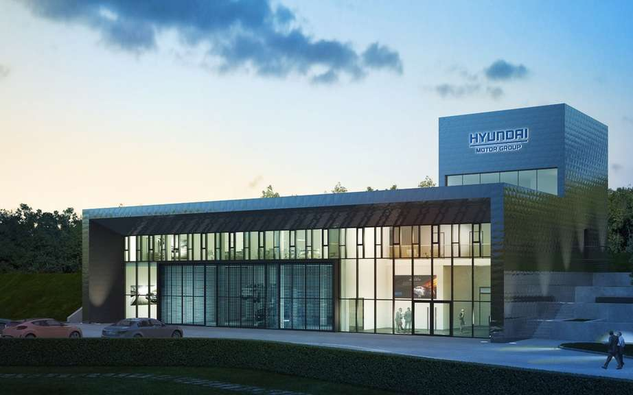 The new test center at the Nurburgring Hyundai picture #4