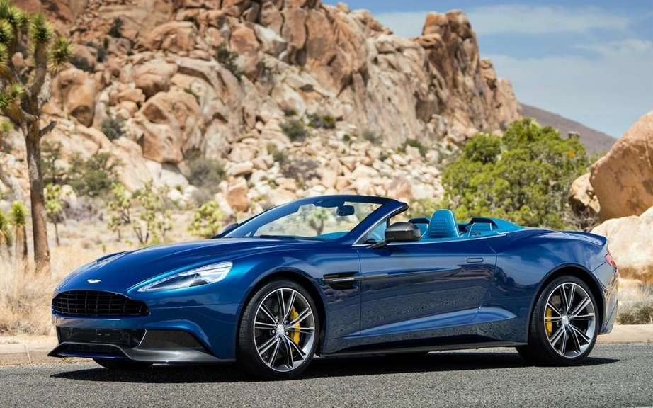 Aston Martin V12 Vantage S: with the engine of the Vanquish picture #2