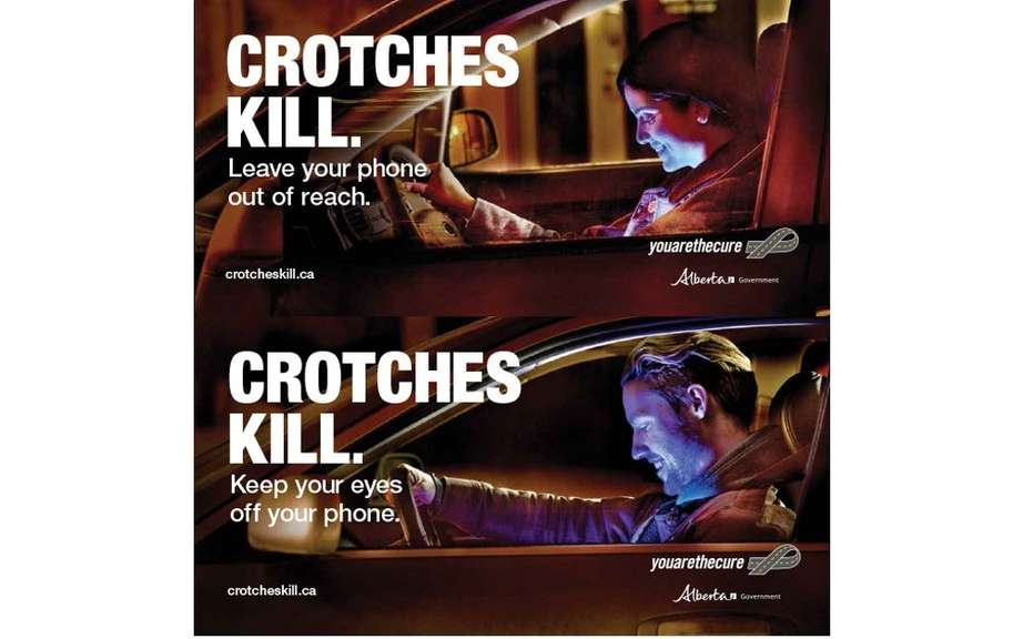 Alberta: Campaign against portable devices while driving picture #3