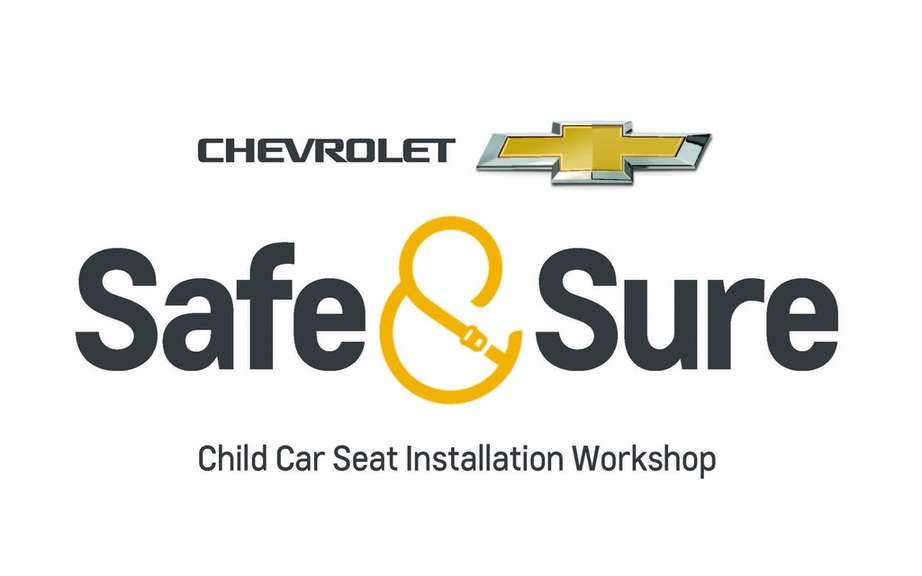 Chevrolet: On the program and reassuring for child seats picture #9