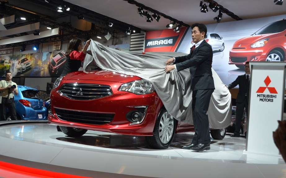 Mitsubishi Attrage: between the Mirage and Lancer