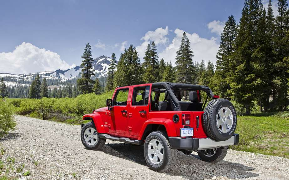 Jeep Wrangler JK assembled millionth icts