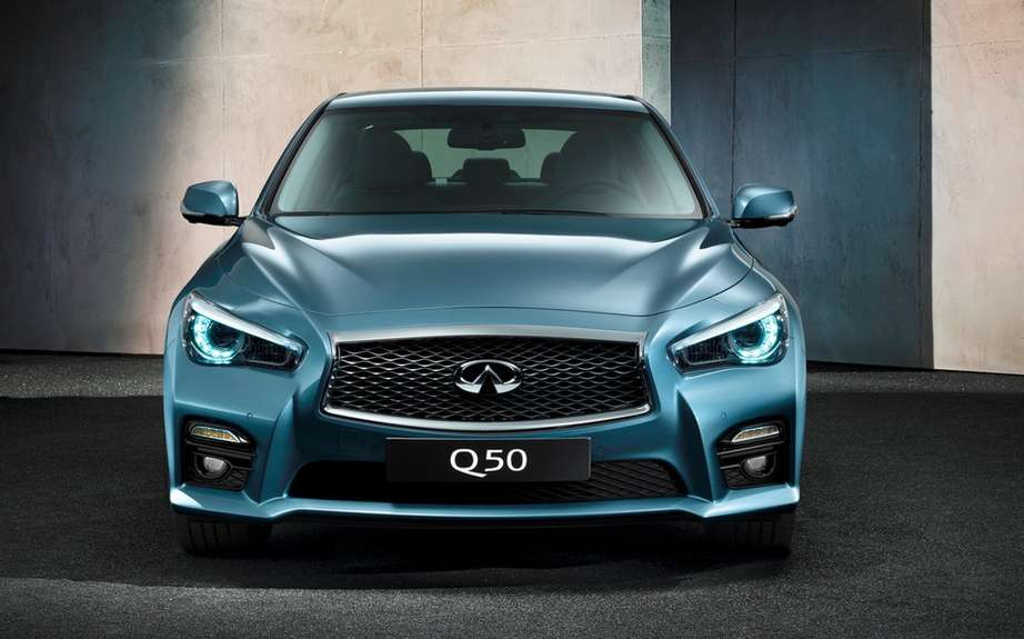 Infiniti launches Production of icts Q50 sedan picture #2