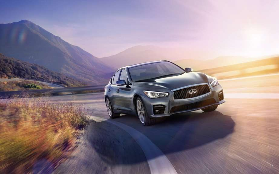 Infiniti launches Production of icts Q50 sedan picture #3