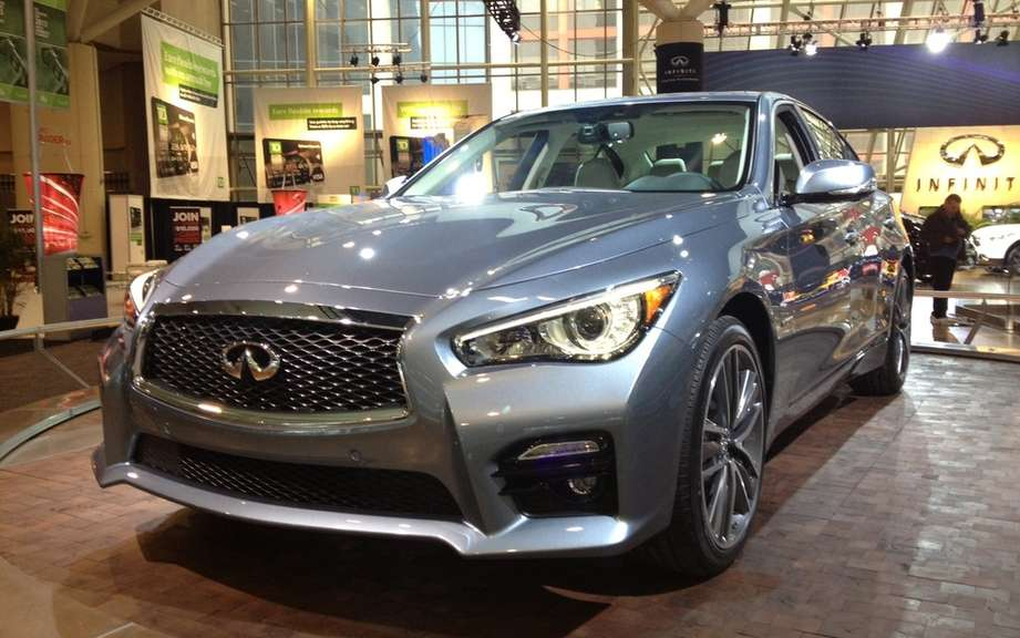 Infiniti launches Production of icts Q50 sedan picture #4