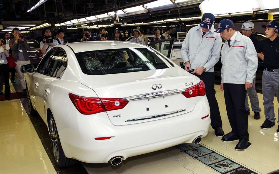 Infiniti launches Production of icts Q50 sedan picture #6