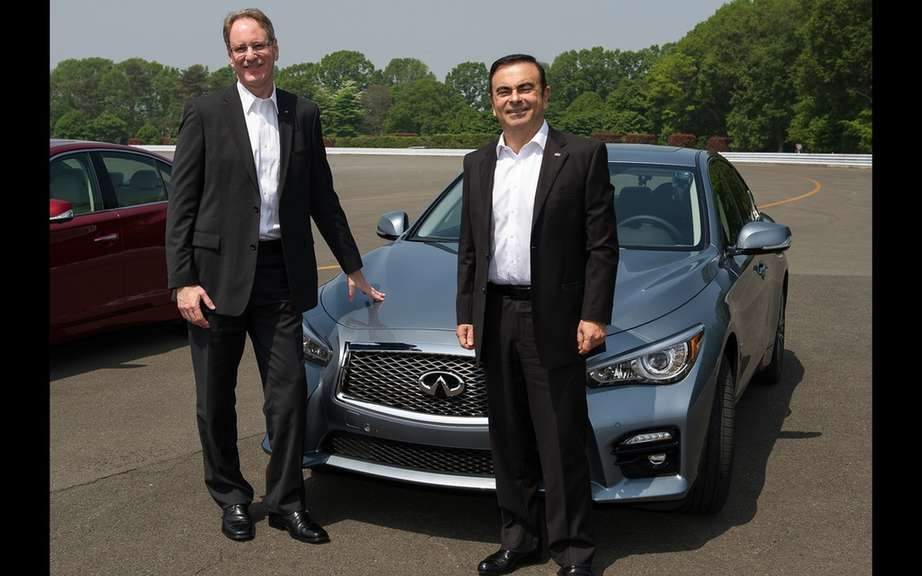 Infiniti launches Production of icts Q50 sedan picture #7