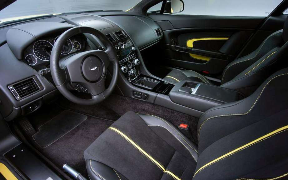 Aston Martin V12 Vantage S: with the engine of the Vanquish picture #10