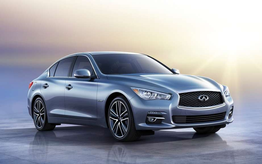 Infiniti launches Production of icts Q50 sedan picture #8