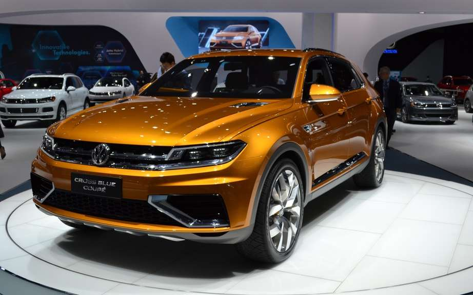 Volkswagen CrossBlue CrossBlue Cup and assembled in China