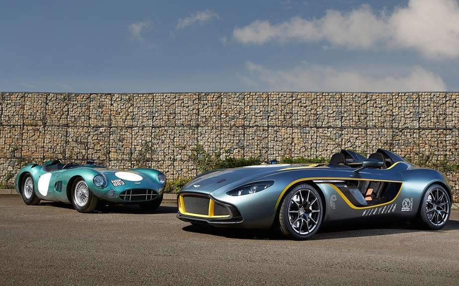 Aston Martin CC100 Speedster Concept: a tribute to the DBR1