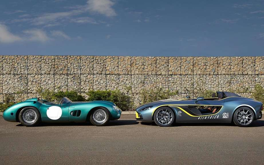 Aston Martin CC100 Speedster Concept: a tribute to the DBR1 picture #2