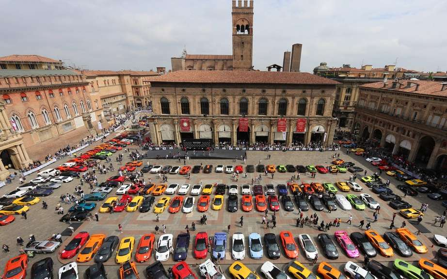 Great Lamborghini Giro: a huge success! picture #3
