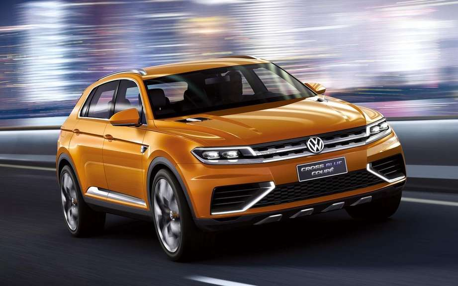 Volkswagen CrossBlue CrossBlue Cup and assembled in China picture #3