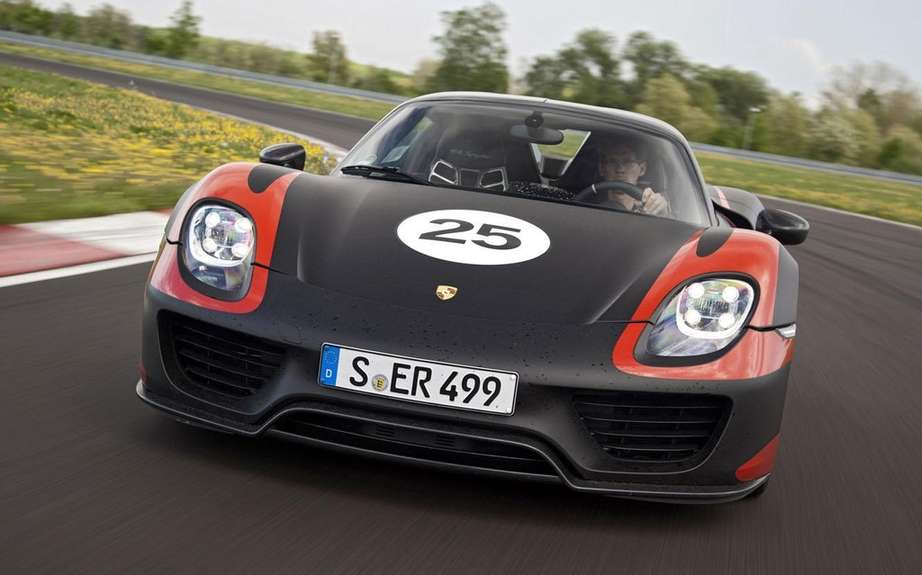 Porsche 918 Spyder HAS Produced 918 copies picture #7