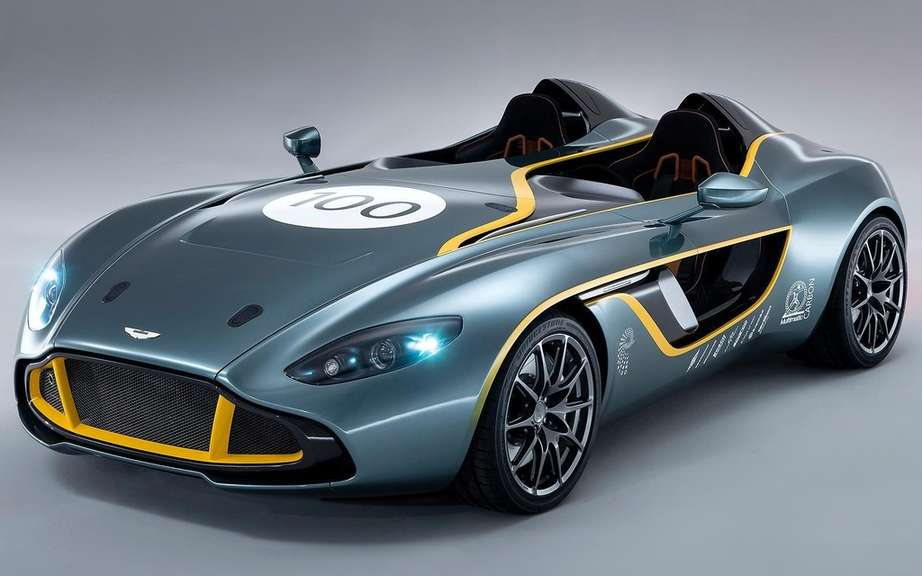Aston Martin CC100 Speedster Concept: a tribute to the DBR1 picture #3