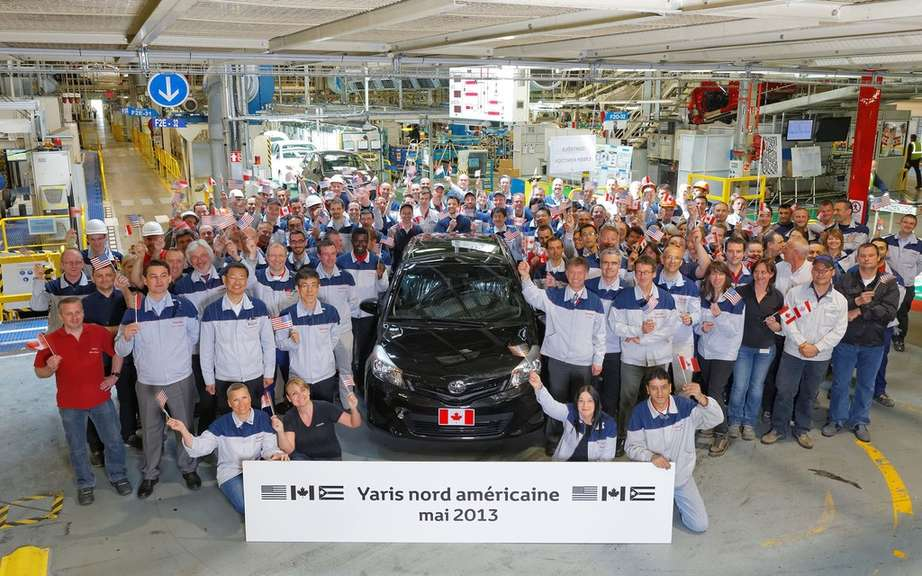 Start of Production of the Toyota Yaris for North America picture #2