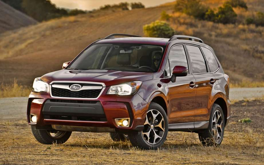 Subaru Forester 2014 he marriages the new IIHS crash ordeal
