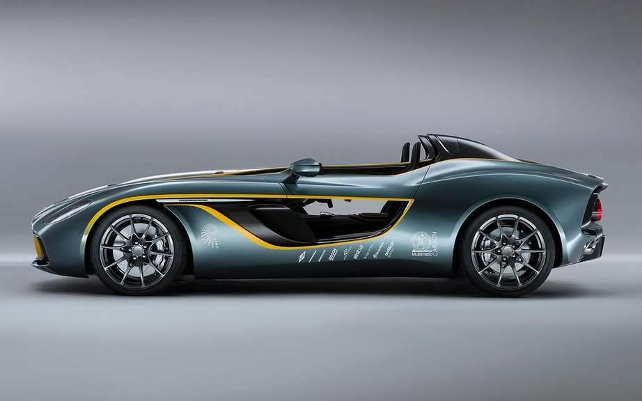 Aston Martin CC100 Speedster Concept: a tribute to the DBR1 picture #5