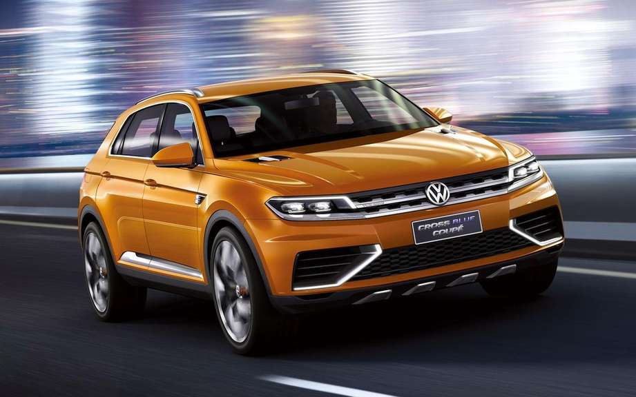 Volkswagen CrossBlue CrossBlue Cup and assembled in China picture #8