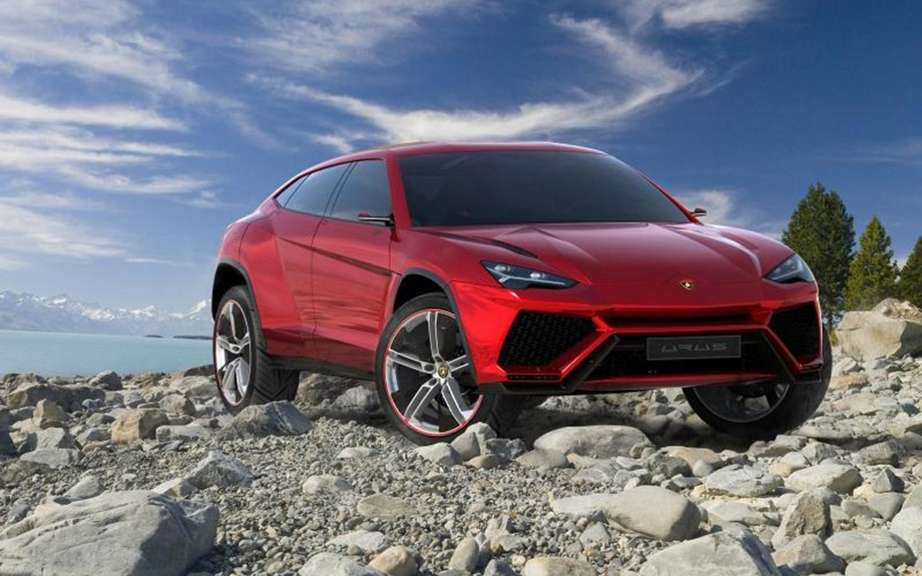 Lamborghini Urus confirms production picture #2