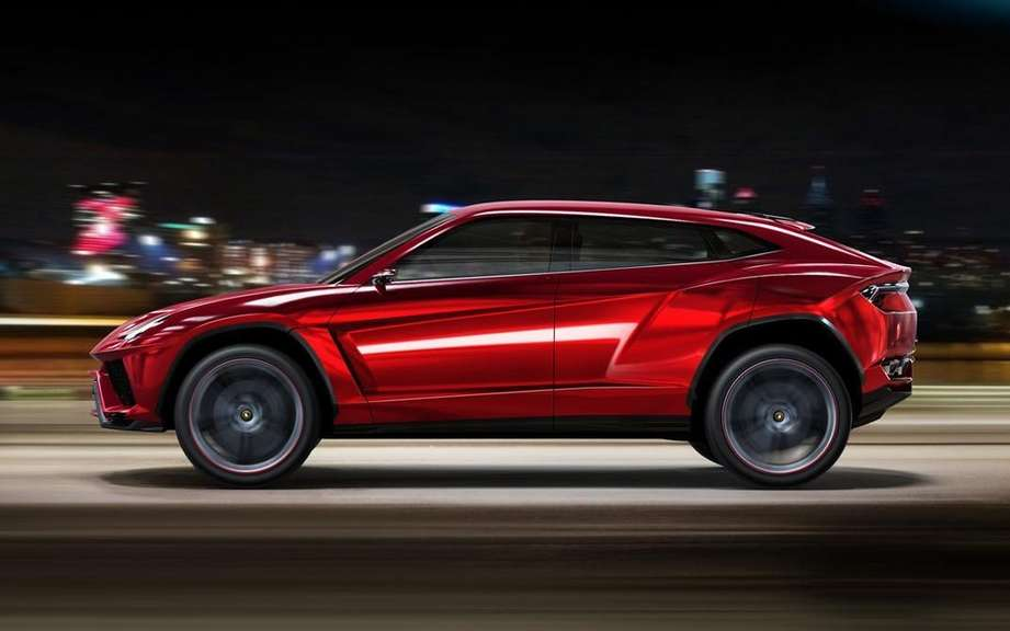 Lamborghini Urus confirms production picture #4