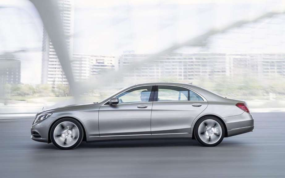 Mercedes-Benz S-Class in 2014 finished gossip picture #2