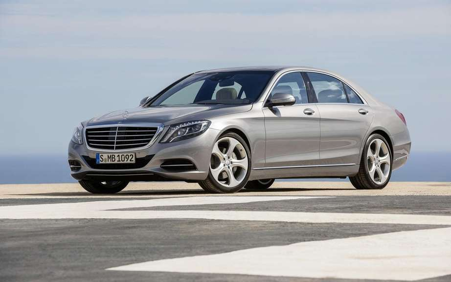 Mercedes-Benz S-Class in 2014 finished gossip picture #3