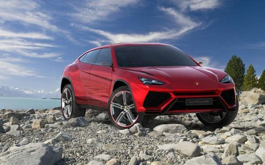 Lamborghini Urus confirms production picture #5