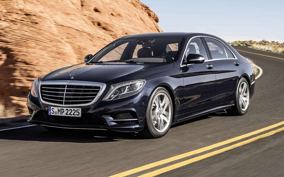 Mercedes-Benz S-Class in 2014 finished gossip picture #5