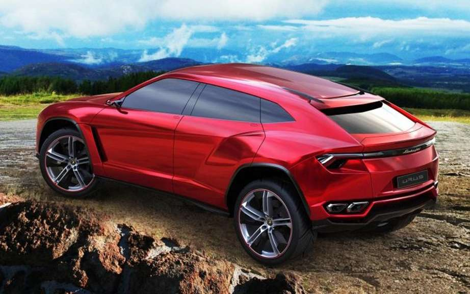 Lamborghini Urus confirms production picture #6
