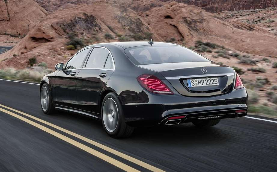 Mercedes-Benz S-Class in 2014 finished gossip picture #6
