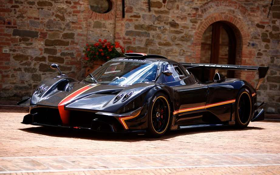 Pagani Zonda Revolucion conceived for track