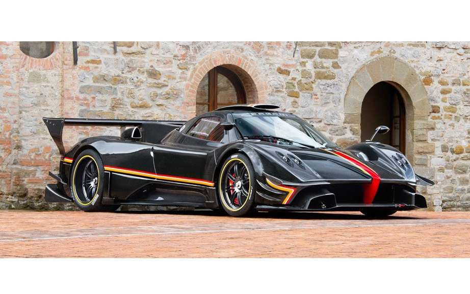 Pagani Zonda Revolucion conceived for track picture #3