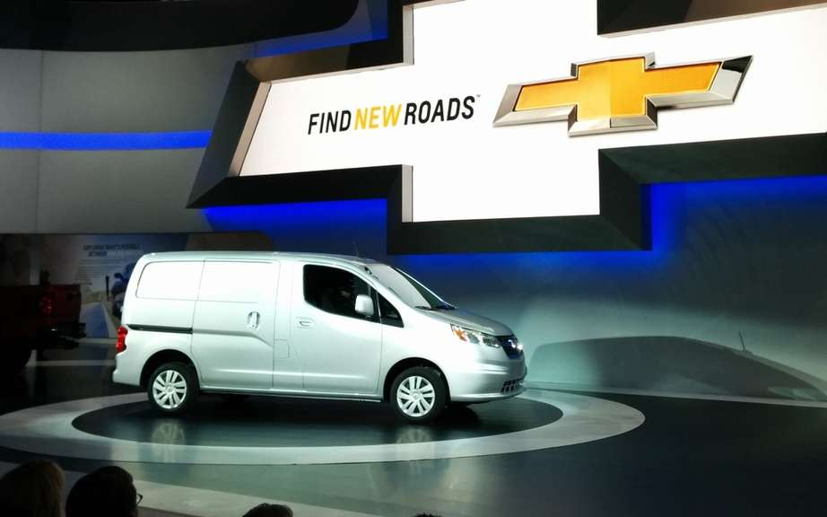 City Chevrolet Express with the DNA of Nissan NV200 picture #1