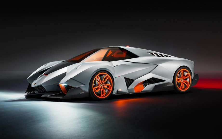 Egoista Lamborghini Concept: Should be really selfish!