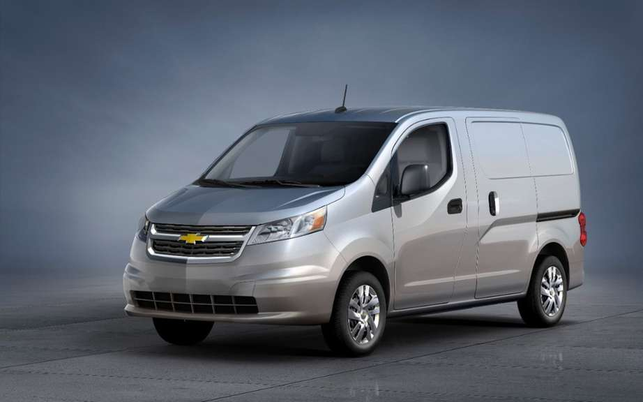 City Chevrolet Express with the DNA of Nissan NV200 picture #5