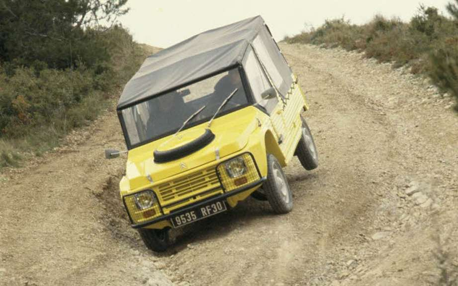 45 years of Citroen Mehari
