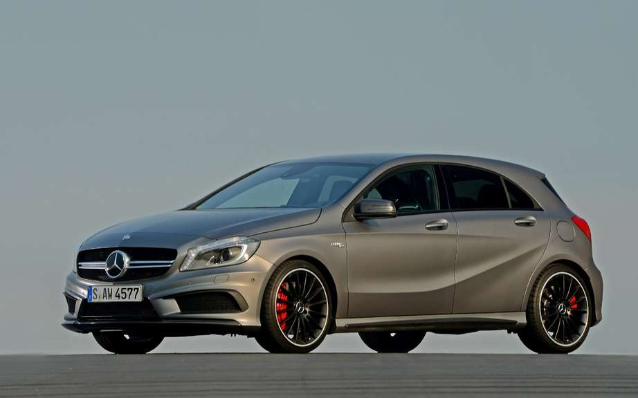 Class A Mercedes-Benz will not be sold in Canada picture #3