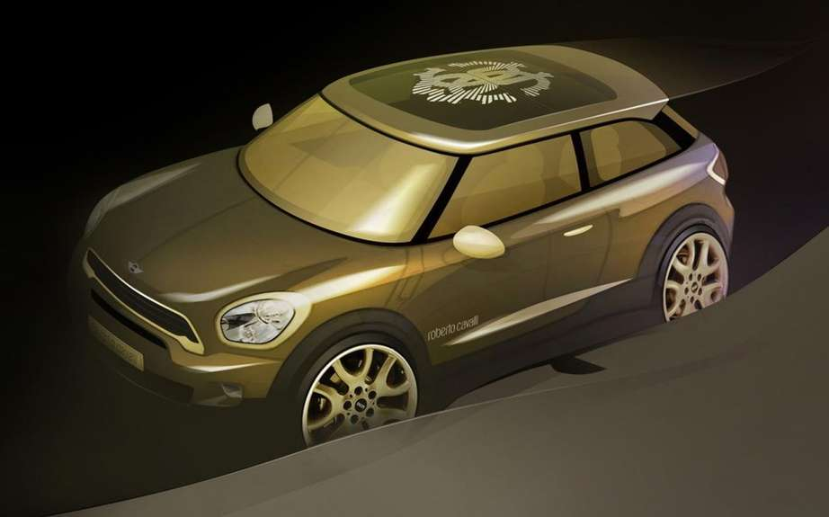 MINI Paceman Roberto Cavalli at Life Ball 2013