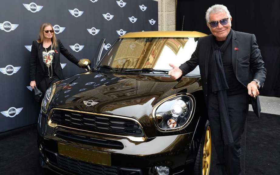 MINI Paceman Roberto Cavalli at Life Ball 2013 picture #2