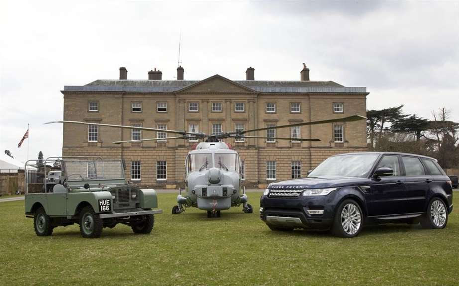 Land Rover celebrated 65 years of technology and innovation picture #3